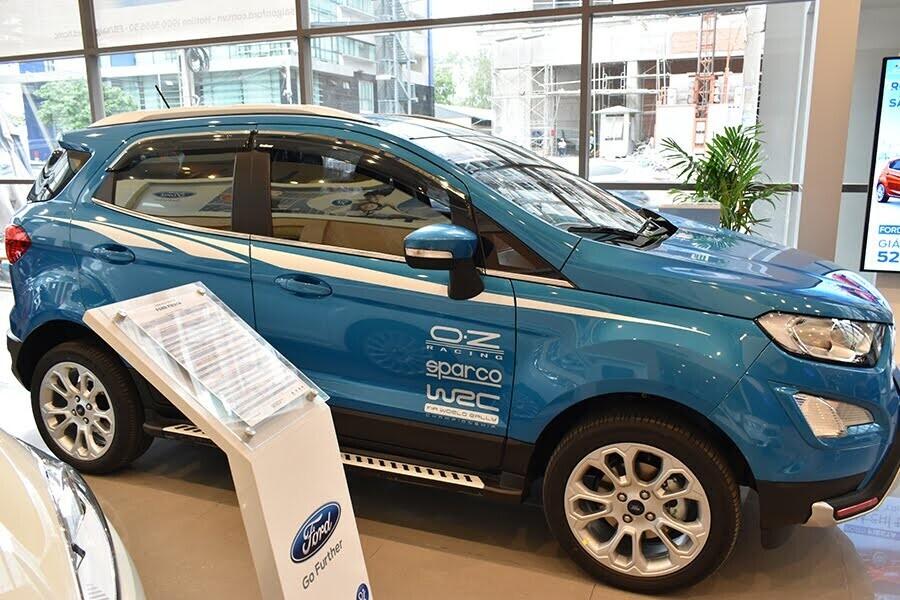 EcoSport 1.5L AT Ambiente với thiết kế ngoại thất mới mạnh mẽ