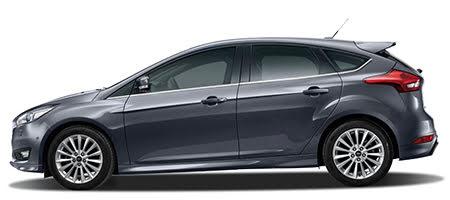 Ford Focus phiên bản màu ghi ánh thép