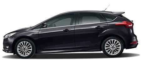 Ford Focus phiên bản màu đen panther