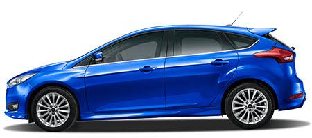 Ford Focus phiên bản màu xanh dương