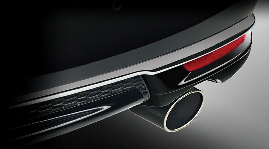 Chụp ống xả mạ crôm sang trọng