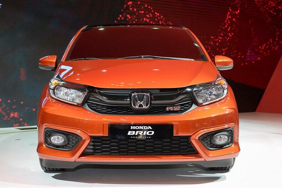 Honda Brio RS thể thao màu cam