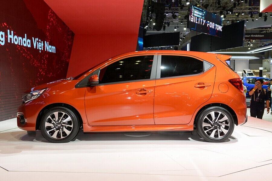Thiết kế Honda Brio mới dựa trên nền tảng của chiếc sedan