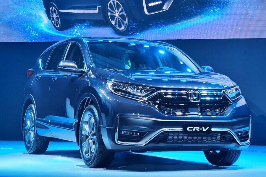 CR-V mang lại thiết kế thể thao