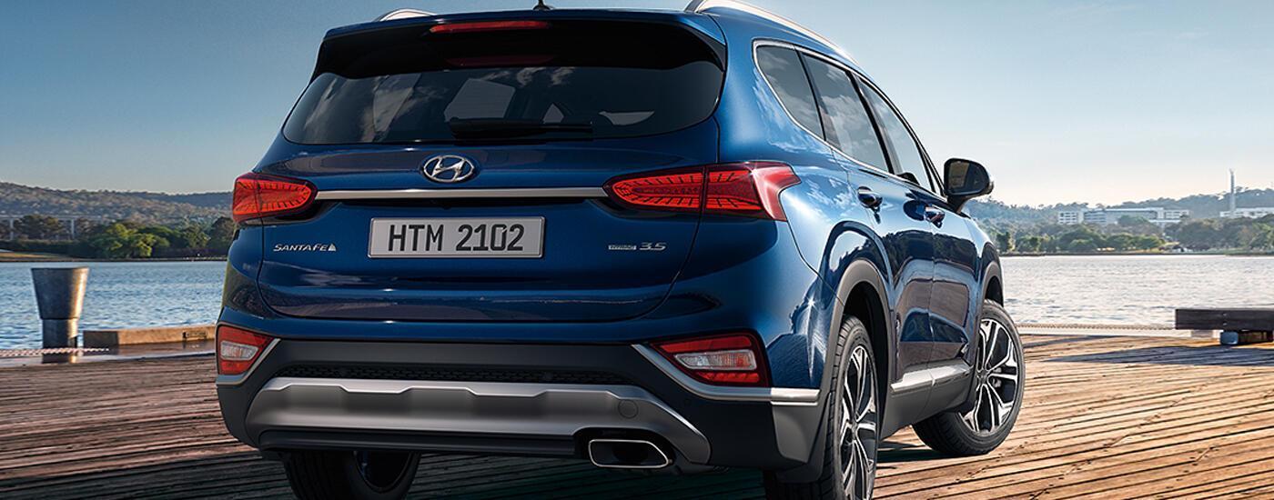 Hyundai Santa Fe 2020 Cao Cấp May Dầu Gia Ban ưu đai Khủng