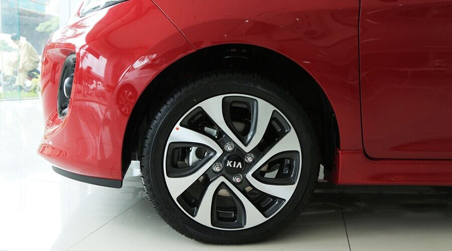 Mâm xe KIA Morning Luxury thiết kế thể thao