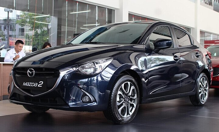 Ngoại thất Mazda 2 Sedan - Hình 2