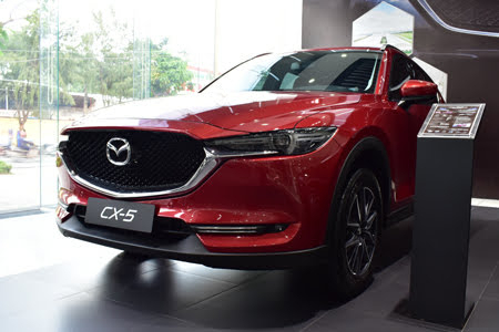 Ngoại thất Mazda CX-5 2.5L AWD 2018 - Hình 1