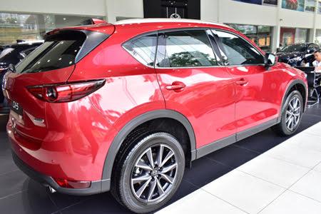 Ngoại thất Mazda CX-5 2.5L AWD 2018 Hình 2