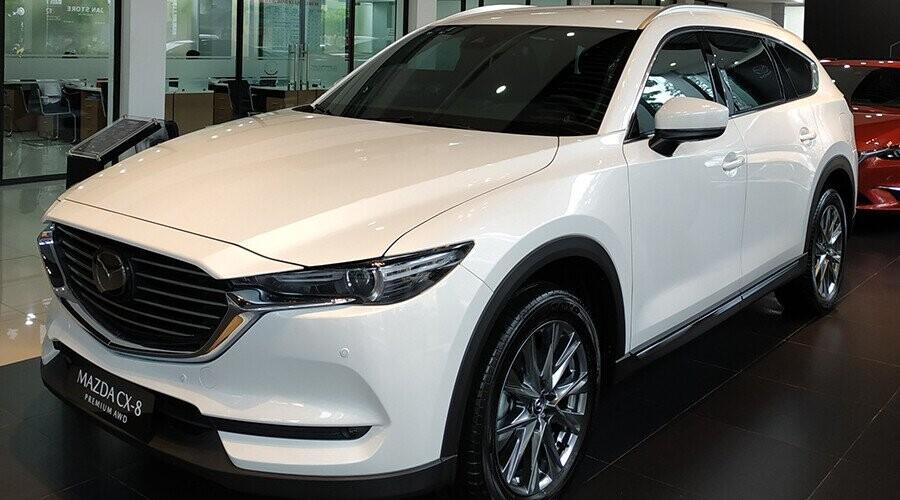 Mazda CX-8 thiết kế sang trọng