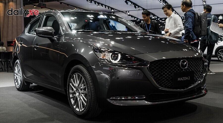 Mazda 2 thiết kế hiện đại, trẻ trung