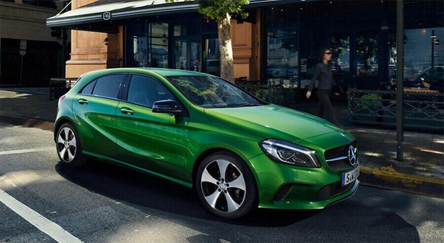 Thiết kế trẻ trung và hiện đại của Mercedes-Benz A200