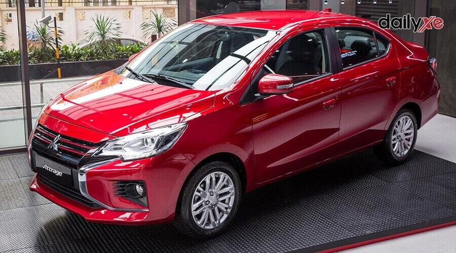 Mitsubishi Attrage thiết kế nhỏ gọn phù hợp di chuyển đô thị