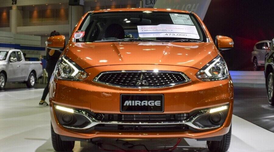 Mitsubishi Mirage thế hệ mới với diện mạo trẻ trung