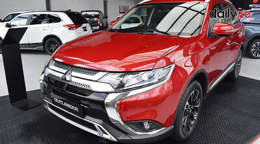 Mitsubishi Outlander thiết kế phong cách hiện đại