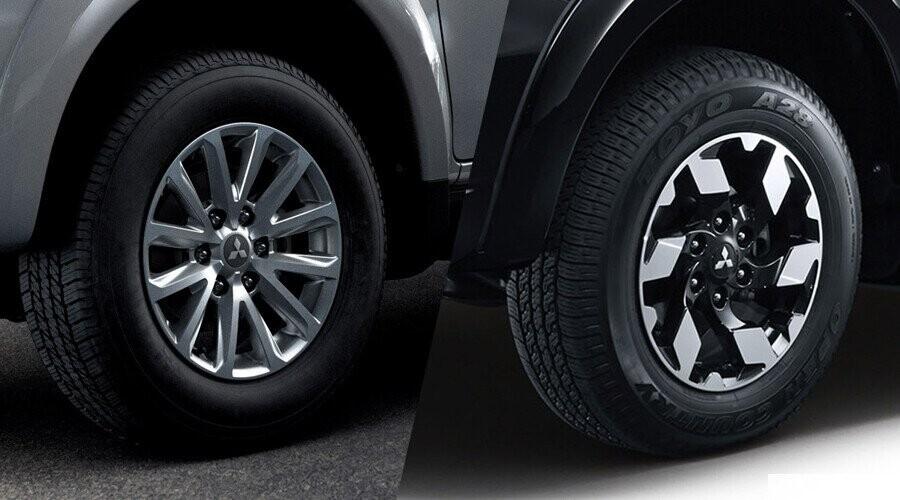 Mâm xe Mitsubishi Triton