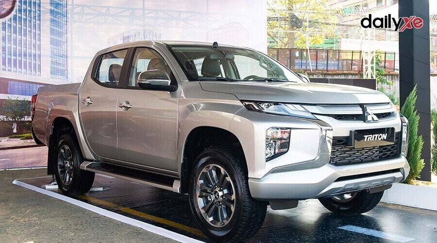 Mitsubishi Triton là mẫu xe bán tải vận hành mạnh mẽ