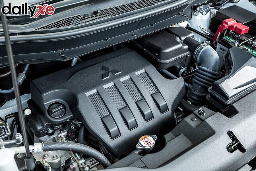 Động cơ 1.5L MIVEC hiệu suất cao và tiết kiệm nhiên liệu