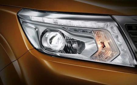 Xe được trang bị đèn trước LED.