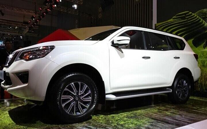 Nissan Terra này được thiết kế theo ngôn ngữ chung được hãng Nissan