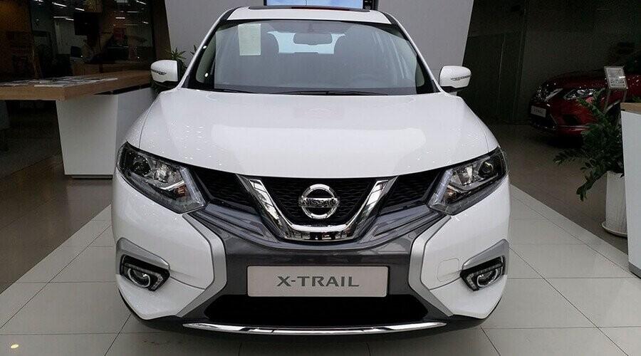 Nissan Xtrail 5+2 ứng dụng ngôn ngữ thiết kế V-motion