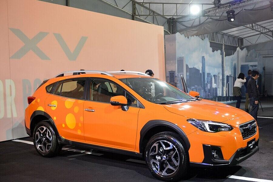Subaru thiết kế thể thao