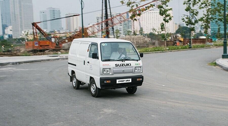 uzuki Blind Van là một mẫu xe có khả năng chuyên chở tiện dụng