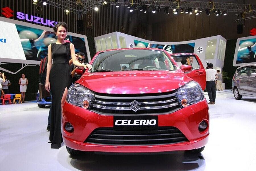 Suzuki Celerio sở hữu thiết kế nhỏ gọn