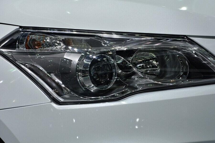 Đèn pha sử dụng bóng Halogen dạng thấu kính