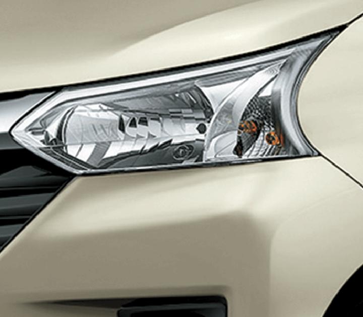Đèn Halogen phản xạ đa hướng với thiết kế sắc nét.