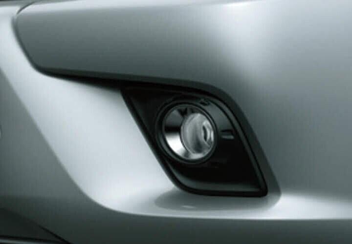 Đèn sương mù phía trước tạo điểm nhấn hài hòa cho phần đầu xe