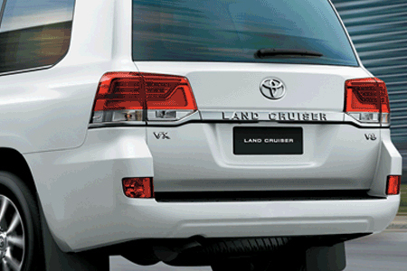 Ngoại thất Toyota Land Cruiser - Hình 4
