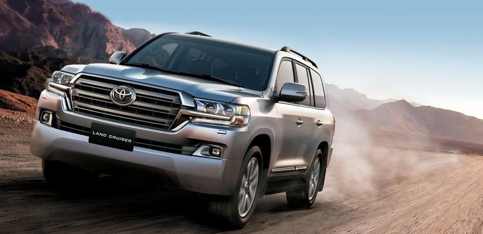 Land Cruiser là mẫu xe danh tiếng khẳng định vị thế dẫn đầu và là nguồn cảm hứng vô tận.