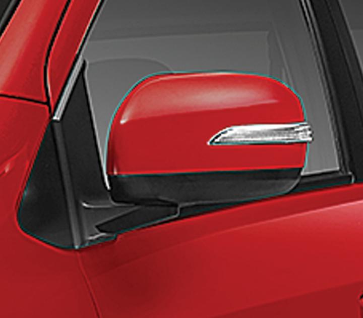 Gương chiếu hậu được thiết kế trẻ trung và thuận tiện cho lái xe quan sát khi di chuyển.