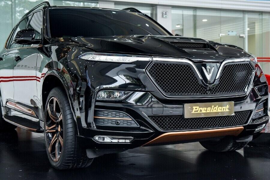 VinFast President mẫu SUV cỡ lớn