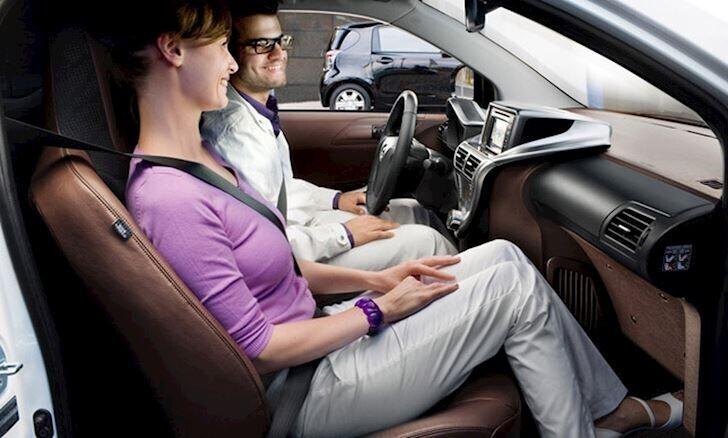 Ngồi ghế trước lưa chọn giảm say xe