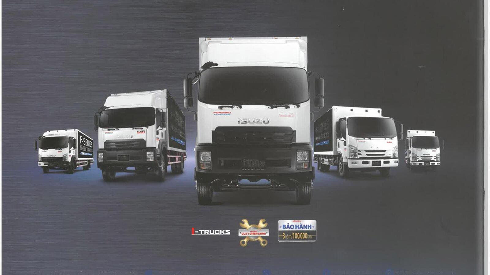Nhìn lại một năm đáng nhớ của thế hệ xe tải Isuzu mới - Hình 1