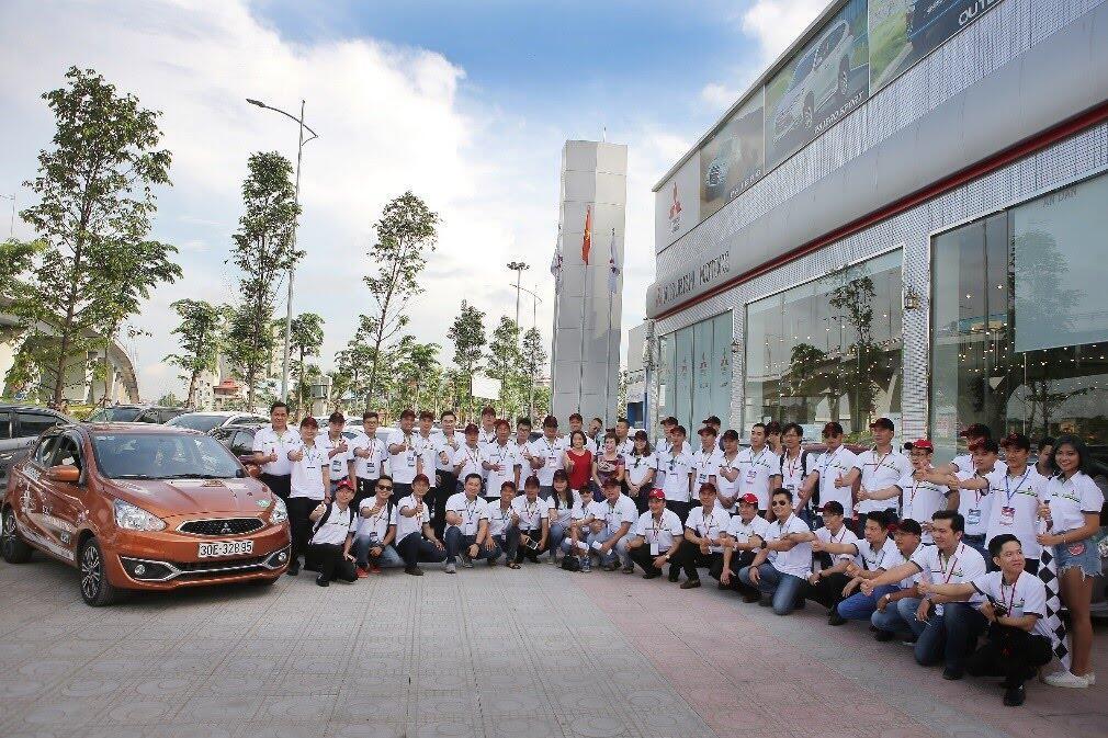 Nhìn lại những khoảnh khắc ấn tượng tại Mitsubishi Eco Drive Challenge - Hình 2