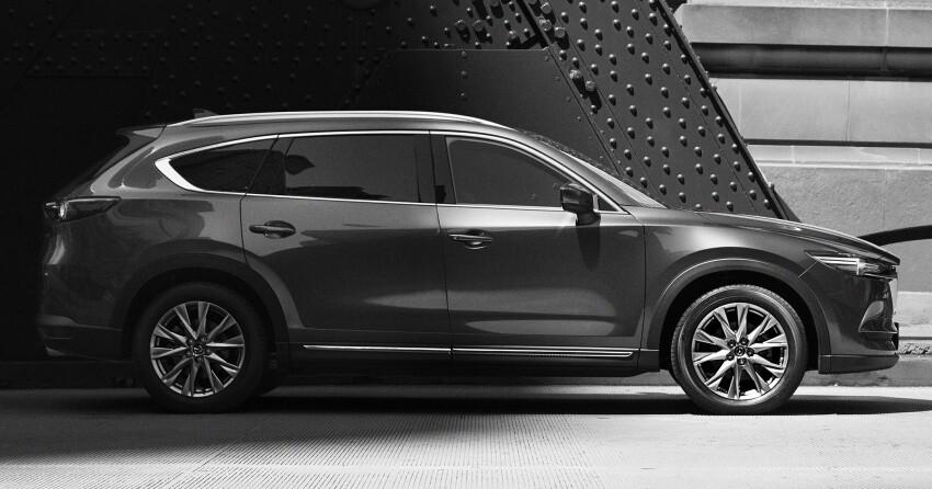 Những hình ảnh đầu tiên của Mazda CX-8 ba hàng ghế - Hình 1