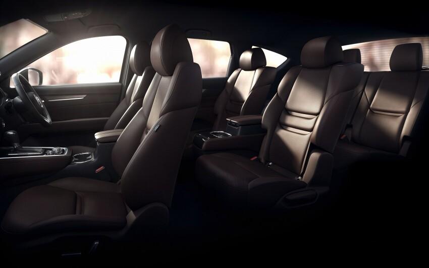 Những hình ảnh đầu tiên của Mazda CX-8 ba hàng ghế - Hình 2