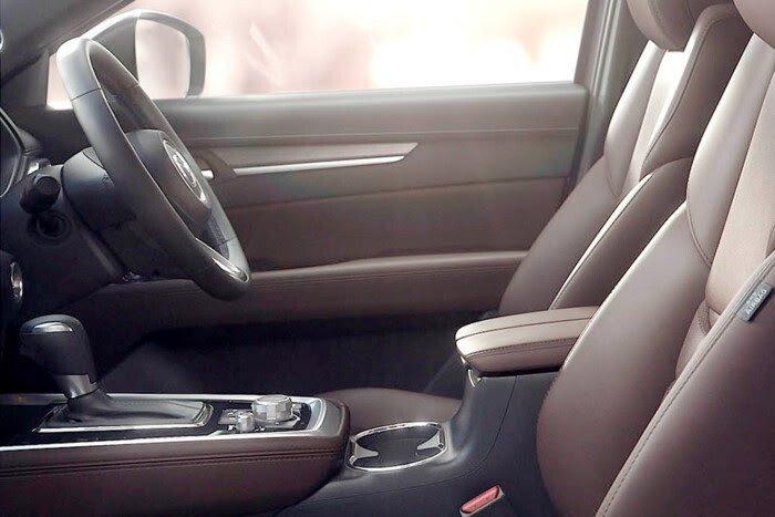 Những hình ảnh đầu tiên của Mazda CX-8 ba hàng ghế - Hình 4