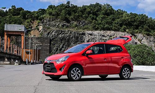 Toyota Wigo tạo nên cuộc đua tam mã ở phân khúc hatchback cỡ nhỏ