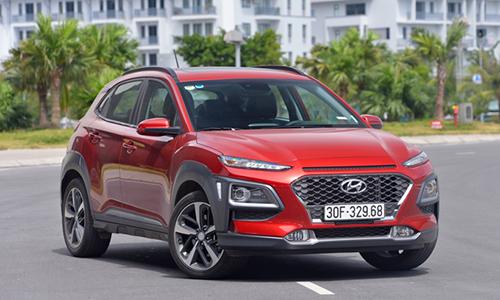 Hyundai Kona 1.6 Turbo, phiên bản cao cấp nhất bán tại Việt Nam
