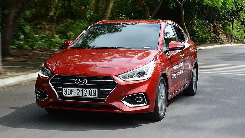 Hyundai Accent chiếm vị trí Honda City