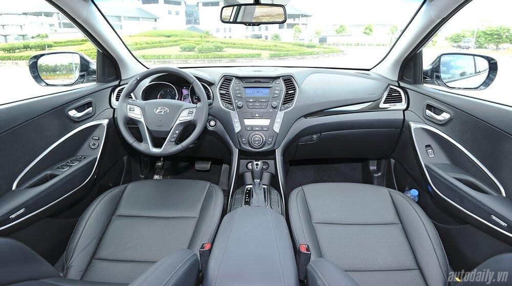 Những tiện nghi trên Hyundai Santa Fe 2014, giá bán 1,431 tỷ đồng - Hình 12