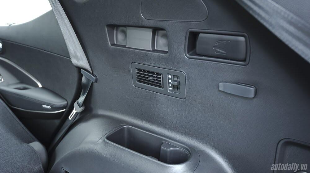 Những tiện nghi trên Hyundai Santa Fe 2014, giá bán 1,431 tỷ đồng - Hình 27