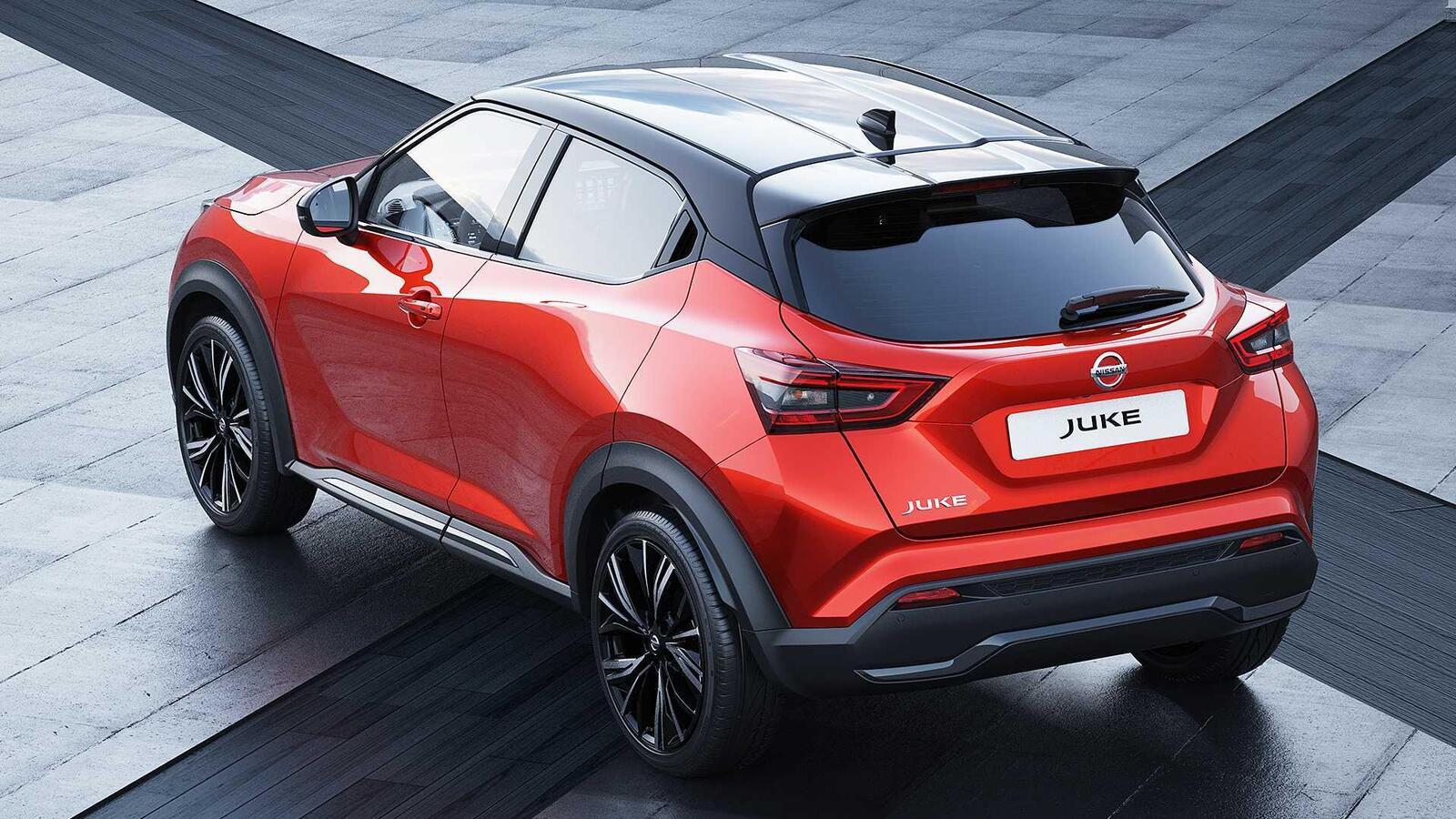 Đuôi xe Nissan Juke 2020