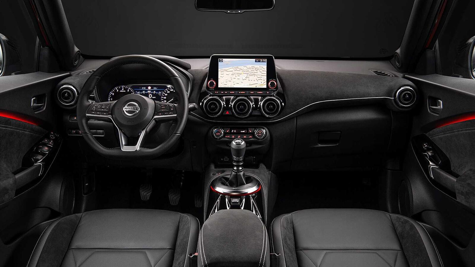 Nội thất Nissan Juke 2020
