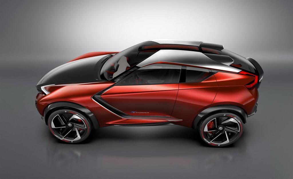 Nissan Juke mới thu hút nhờ thiết kế dị - Hình 1