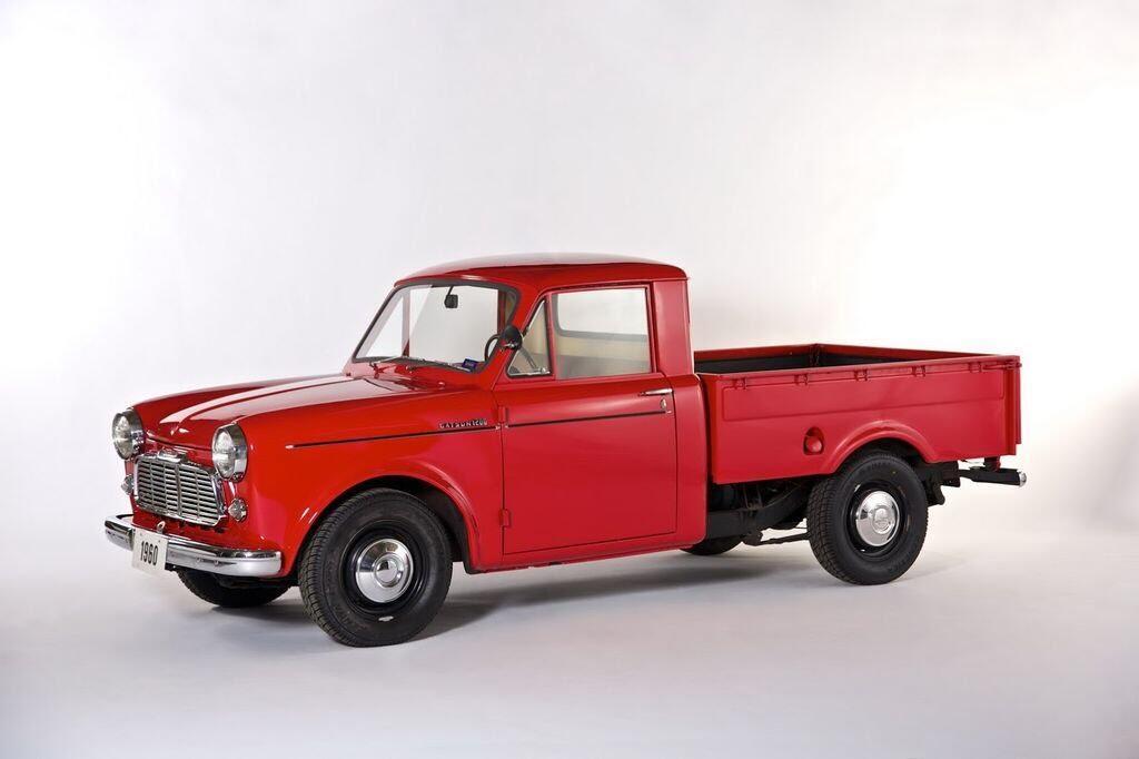 Nissan mang Titan và Titan XD cùng một chiếc Datsun 1960 tới Triển lãm xe bán tải - Hình 5